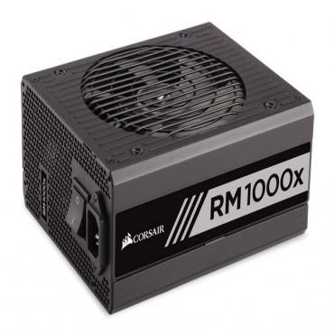 Corsair Power Supply: 1000W 80 PLUS Gold Certified Full Modular RM1000X