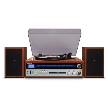 Crosley 1975t Entertainment System - Walnut Cr6038a-wa