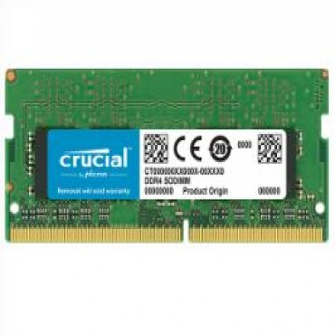 Crucial 16gb Ddr4 2666 Mt/ S (pc4-21300) Cl19 Dr X8 Unbuffered Sodimm 260pin [ct16g4sfd8266] Ct16g4sfd8266