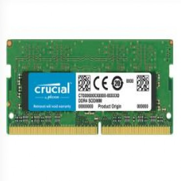 Crucial 8gb Ddr4 (sodimm) Notebook Memory Pc4-21300 2666mhz Life Wty Ct8g4sfs8266