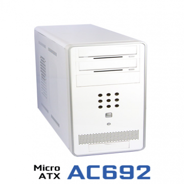 Generic Matx Tower: Ac692 Mirco Atx Case No Front Audio Or Usb Ac692