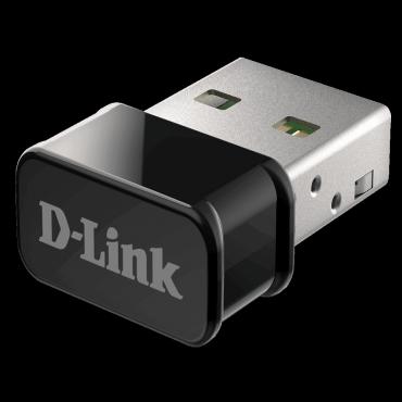 D-link WIRELESS AC1300 MU-MIMO NANO USB ADAPTER (Dwa-181)