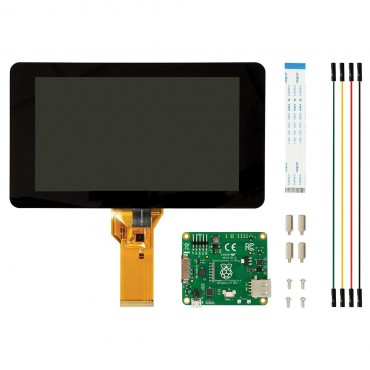 "Raspberry Pi 7"" Touch Screen Display E14-2473872"