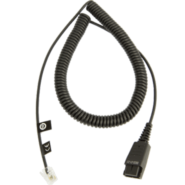 Jabra Gn Netcom/ Jabra Standard Cord Compatible With Most Headset Enabled Telephones Except Cisco 8800-01-01