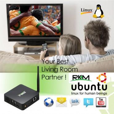 RKM MK902S LE Quad Core (Linux Edition) Picuntu Linux Mini PC ELERKMLEMK902S