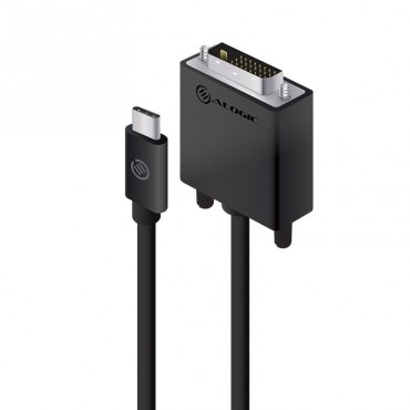 Alogic Premium 2M Usb-C To Dvi Cable - Male To Male Elucdv-02Rblk