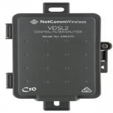 NETCOMM EM1670B VDSL/ADSL2+ CENTRAL FILTER - OUTDOOR USE AUSTRALIAN CERTIFIED USED BY NBN
