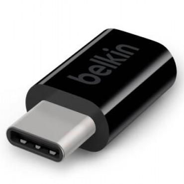 Belkin Usb-C To Micro B Adapter,Black F2Cu058Btblk