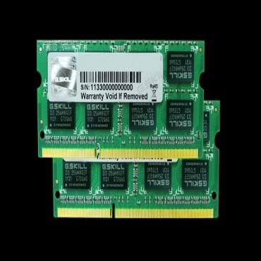 G.skill 16g Kit (2x 8g) Pc3-12800 Ddr3 1600mhz So-dimm 11-11-11 1.50v F3-1600c11d-16gsq