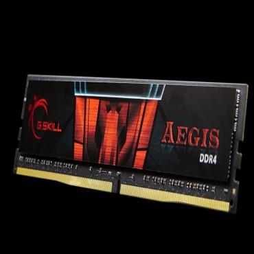 G.skill Aegis 16gb Pc4-19200 Ddr4 2400mhz 15-15-15-35 1.2v Dimm F4-2400c15s-16gis
