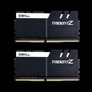 G.skill 32GB (16GBx2) DDR4-3200 (PC4-25600) CL16-18-18-38 1.35 Volt [Trident Z] Z170 F4-3200C16D-32GTZKW