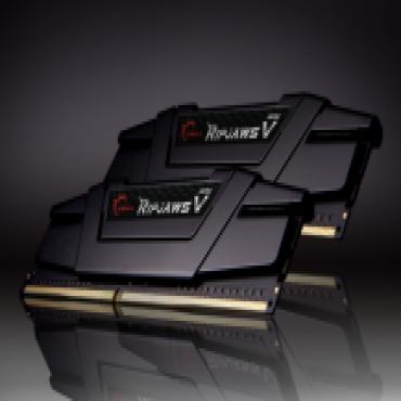 G.skill 16GB (8GBx2) DDR4-3600 (PC4-28800) CL17-18-18-38 1.35 Volt [Ripjaws V] Intel Z170 Platform