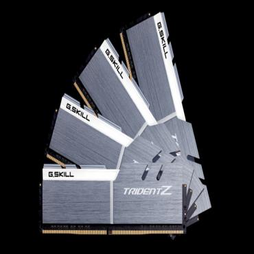 G.skill 64GB (16GBx4) DDR4-3200 (PC4-25600) CL16-18-18-38 1.35 Volt (Trident Z) Intel Z170 chipset