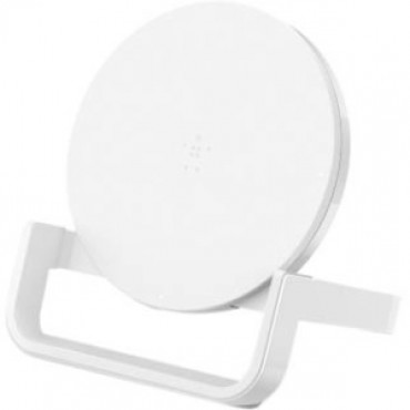 Belkin Qi Boost Up Wireless 10w Charging Stand For Iphone Samsung Lg And Sony White 1y F7u052auwht