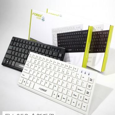 Generic Keyboard: Forev Mini Usb Black Fv-65s Black