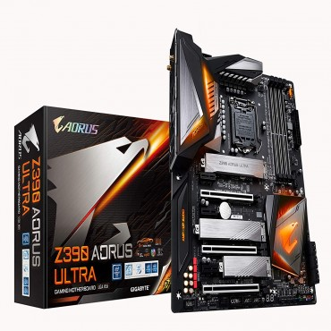 Gigabyte Z390 Aorus Ultra Mb 1151 4xddr4 6xsata 3xm.2 2xusb-c Atx 3yr Ga-z390-aorus-ultra