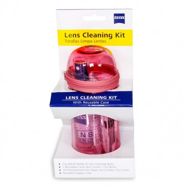 Gunnar Pink Zeiss Lens Cleaning Kit Gn-zeisscln-pnk