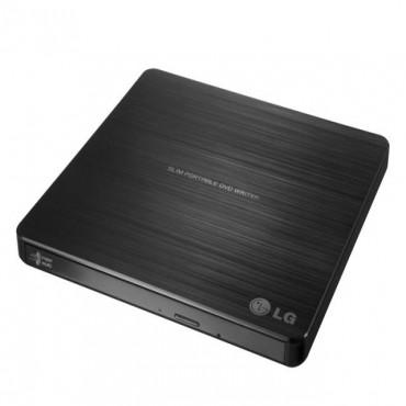 LG External DVD: 8x Slim USB2.0 DVD Writer GP60NB50
