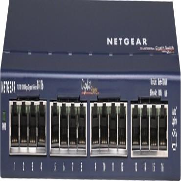Netgear Gs116 (giga-switch) 16port 10/ 100/ 1000 Ggbit Ethernet Desktop