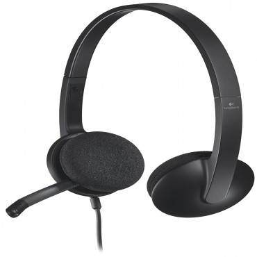 Logitech 981-000477: Logitech H340 USB Headset LOGHSTH340