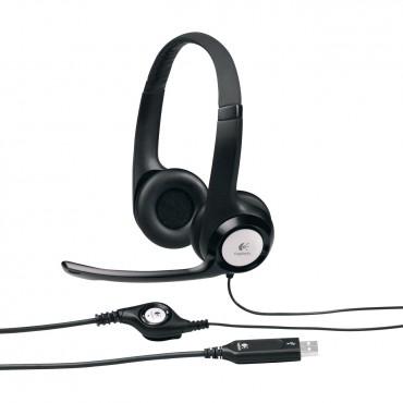 Logitech 981-000485: Logitech H390 USB Headset LOGHSTH390