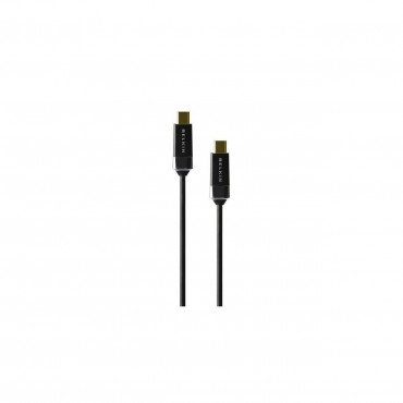 Belkin Hdmi 2.0 High Speed Cable Gold Connector 2M Black (No Ethernet) Hdmi0018G-2M