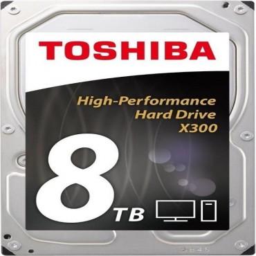 """Toshiba X300 Performance Int 3.5"""" 8tb 7200rpm Hdd Sata 128mb Hdwf180uzsva"""