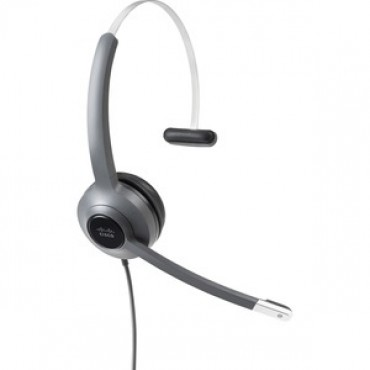 CISCO HEADSET 521 WIRED SINGLE 3.5MM + USBC HEADSET ADAPTER (CP-HS-W-521-USBC)
