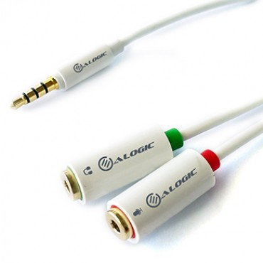 Alogic 2Xheadphone (F) & Mic (F) To 1X3.5Mm Stereo Jack (M) Joiner/ Adapter Hmj-Adp