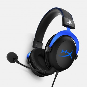 Hyperx Cloud Blue Gaming Headset - Play Hx-hscls-bl/em