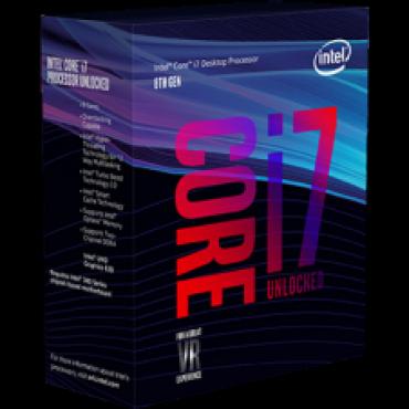 Intel Processor: Core i7-8700K Coffee Lake CPU 6 Core 12 Threads LGA1151 up to 4.70GHz 8GT/ s