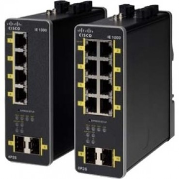 Cisco (ie-1000-4t1t-lm) Ie-1000 Gui Based L2 Switch 5 Fe Copper Ports Ie-1000-4t1t-lm