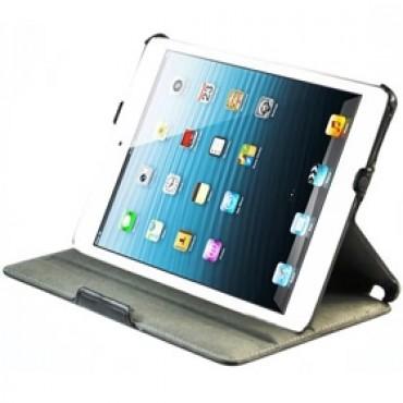 Apple Ipad Mini Leather Slim Folio Convertible Case With Sleep/ Wake Function