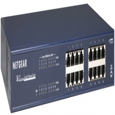 Netgear Jgs516 (giga-switch) 16port 10/ 100/ 1000mbps Gigabit Ethernet Switch