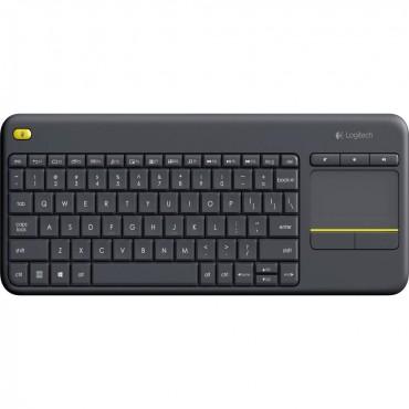 Logitech 920-007165: Logitech K400 PLUS Touch Wireless keyboard - Black LOGKEYK400BK