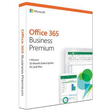 Microsoft Office 365 Business Premium Mac/ Win No Dvd Retail Box 1yr Sub Klq-00431