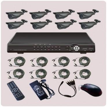 SIGNAGEiT 8 Channel Dvr Combo Kit. KT86-VT20S70