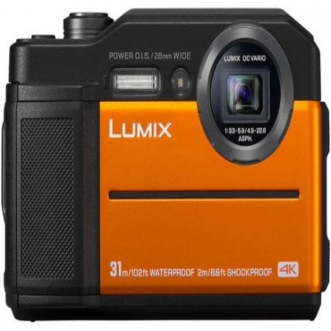 Panasonic Lumix Dc-Ft7 20.4 Megapixel Digital Camera Orange Dc-Ft7Gn-D