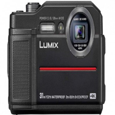Panasonic Lumix Dc-Ft7 20.4 Tough Digital Camera Black Dc-Ft7Gn-K
