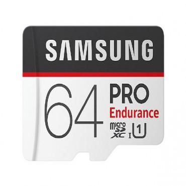 Samsung PRO Endurance micro SDCard (SD Adapter) 64GB MB-MJ64GA/APC