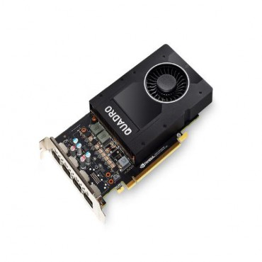 Leadtek PCIE Quadro P2000 5GB DDR5, 4H(DP), Single Slot, 1x Fan, ATX 900-5G410-2200-000