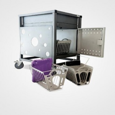 Gilkon Tablet Basket Kit/ 2 Baskets/ Mounting Brackets/ Fixings/ 2IPAD