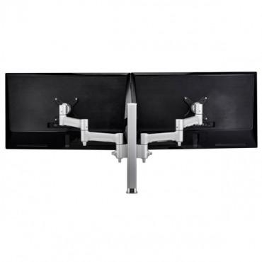 Atdec Atdec Awm Dual Monitor Arm Solution - 460Mm Articulating Arms - 400Mm Post - Bolt - Black