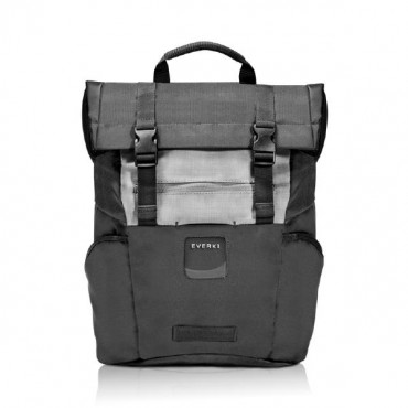 Everki Everki ContemPRO Roll Top Laptop Backpack, up to 15.6-Inch - Black (EKP161) with Dedicated