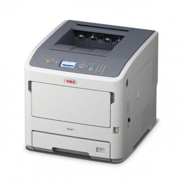 OKI B721dn Mono A4 PCL 530 Sheet 47ppm Duplex Network Printer 45487002