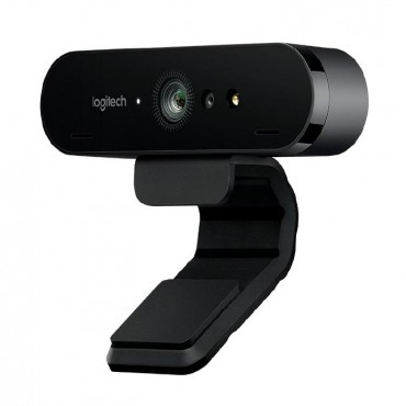 Logitech BRIO Webcam 4K Ultra HD webcam with RightLight with HDR 960-001105