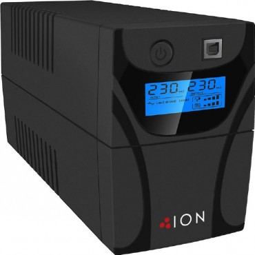 ION F11 650Va Line Interactive Tower Ups 2 X Australian 3 Pin Outlets F11-650