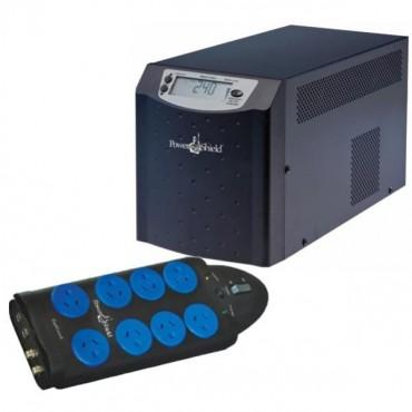 Powershield Commander Psc1000 Plus Bonus Zapguard 8 Way Power Surge Filter Board Free Psc1000-bun