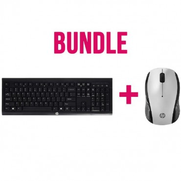 Bundle Hp Wireless Keyboard And Mouse (2 Boxes) E5E77Aa + 3Dh83Aa