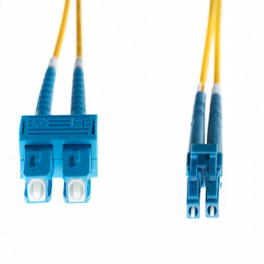 4Cabling 3M Lc-Sc Os2 Singlemode Fibre Optic Cable : Yellow (Fl.Os2Lcsc3M)